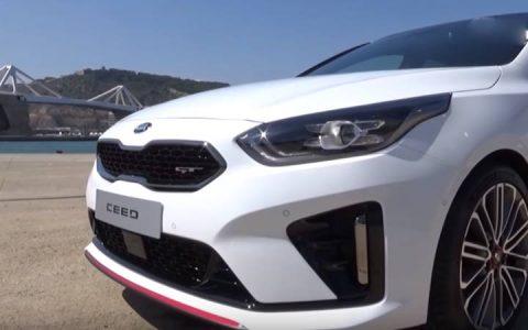 Оптика Kia cee'd GT 2019 года