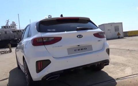 Задний бампер Kia cee'd GT 2019 года