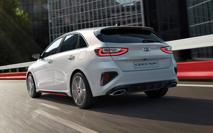 Представлен новый Kia cee'd GT 2019 года