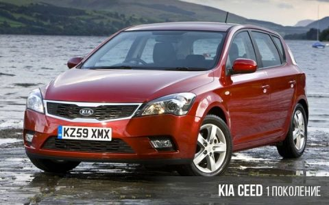Kia Ceed 1 поколение