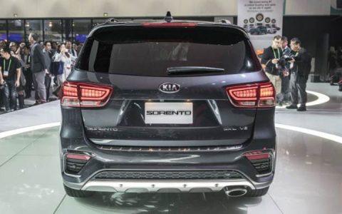 Задний бампер Kia Sorento Prime 2019