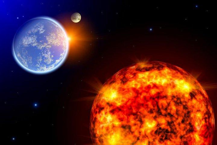 планеты солнце и земля
