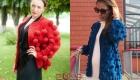 Модные крадиганы 2018-2019 с крупными шишечками