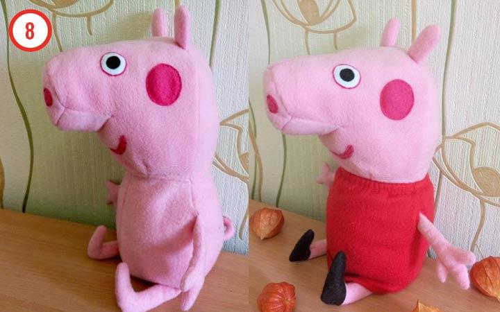 Свинка Пеппа в новому году своими руками