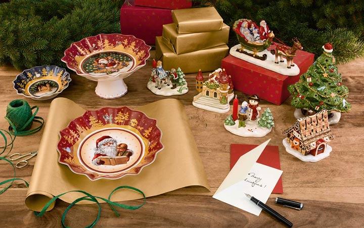 Новогодняя посуда в подарок маме на 2019 год