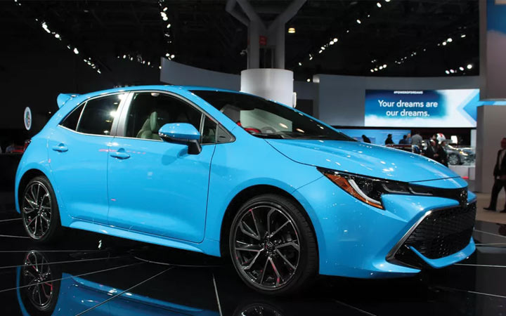 Новая Toyota Corolla Cross 2019