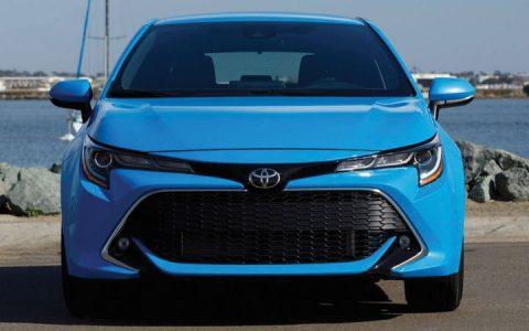 Экстерьер Toyota Corolla Cross 2019