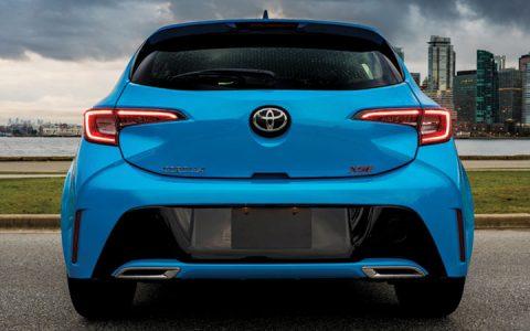 Задний бампер Toyota Corolla Cross 2019