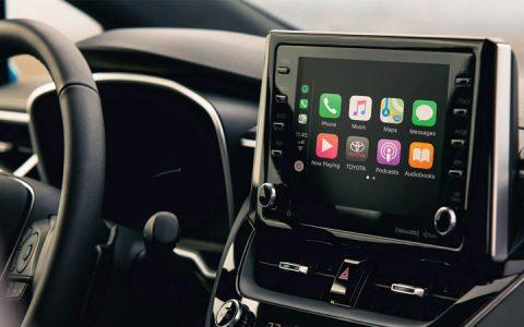 Сенсорный дисплей Toyota Corolla Cross 2019