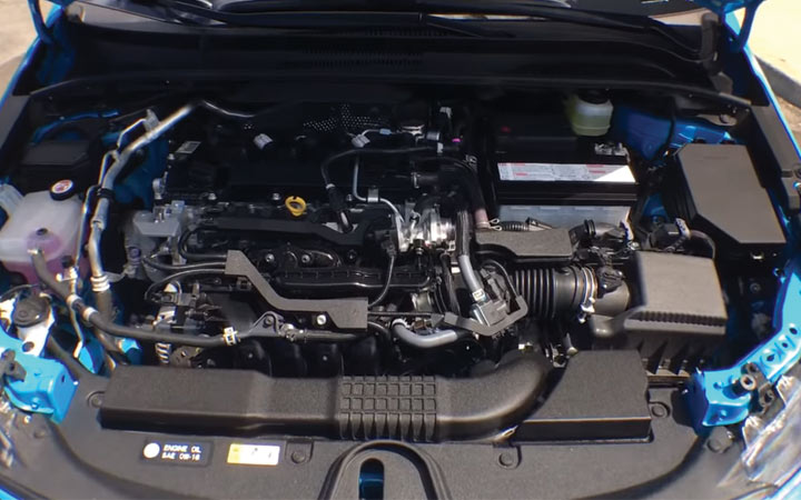 Силовой агрегат Toyota Corolla Cross 2019