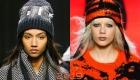 Трендовые модели вязаных шапок