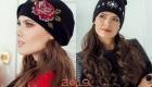 Модные вышитые шапки