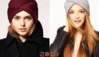 Модная шапка-чалма 2018-2019