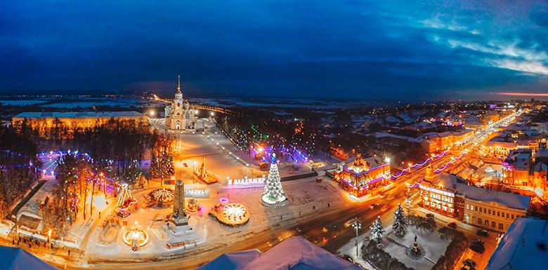Новый 2019 год во Владимире
