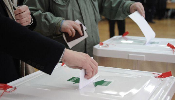 Избиратели на выборах