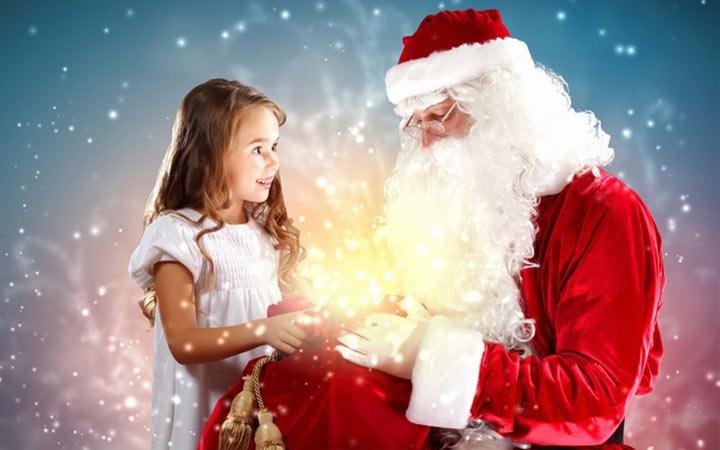 Персональное видео поздравление от Деда Мороза на 2019 год