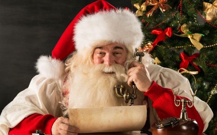 Телефонный звонок от Деда Мороза в 2019 году