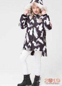 Куртка для девочки Crockid осень-зима 2018-2019