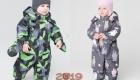 Теплые комбинезоны для малышей Crockid зима 2018-2019