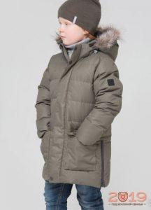 куртка с мехом для мальчика от Crockid осень-зима 2018-2019