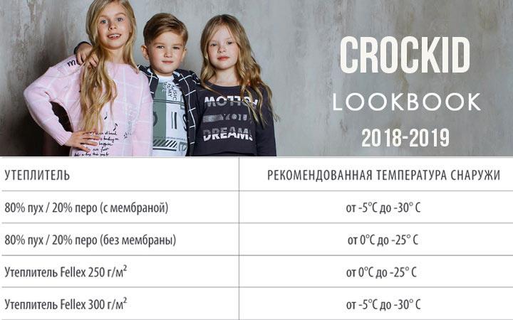 Наполнители Crockid осень-зима 2018-2019