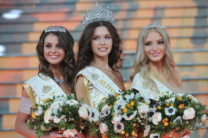 Участницы конкурса мисс Россия 2019 года