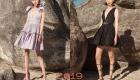Модный сарафан 2019 года с пышной юбкой