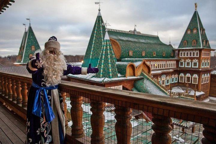 Новый год в парке Коломенское