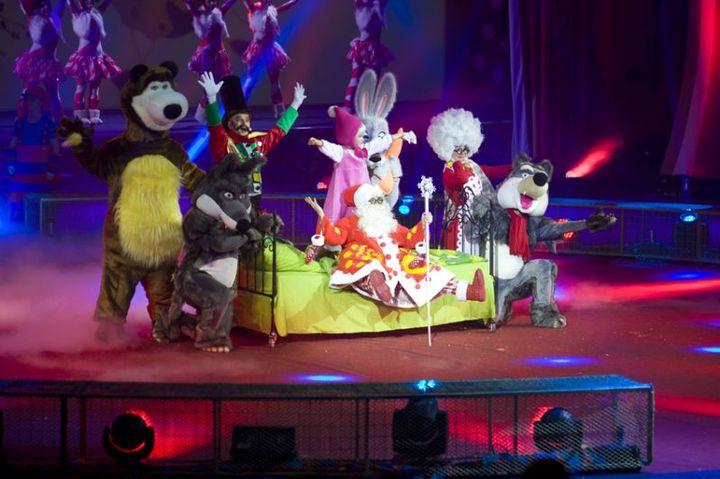 Шоу «Три богатыря, Маша и Медведь»