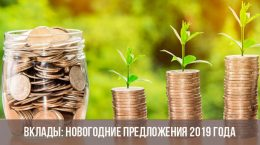 Новогодние вклады в банках в 2019 году