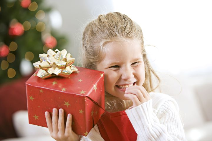 Новогодний подарок для девочки