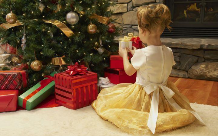 Новогодний подарок девочке