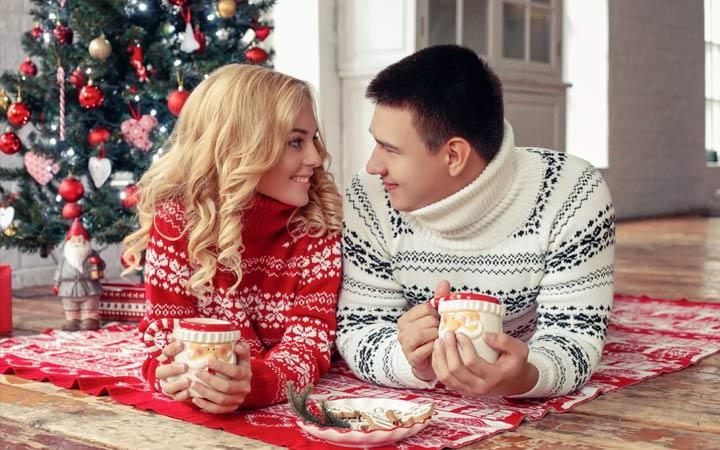 Новогодняя романтика в 2019 году
