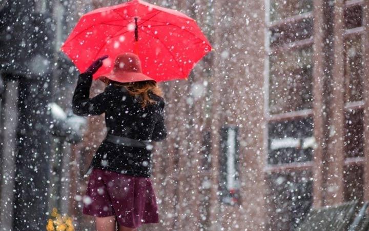 Снег в России погода в 2019 году