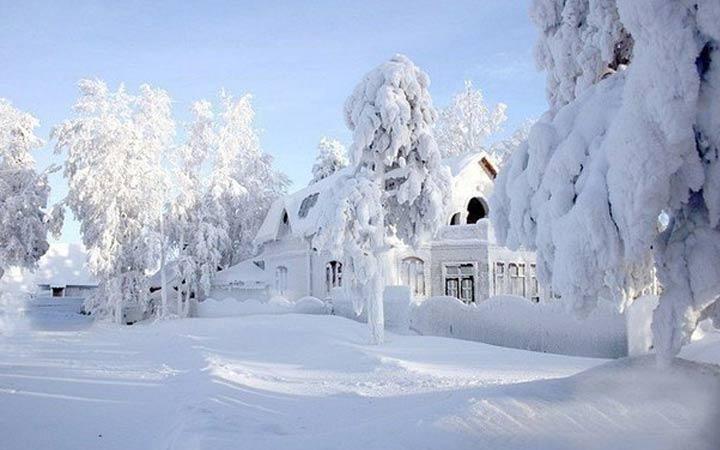 Зима 2019 года в России