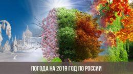 Погода на 2019 год по России
