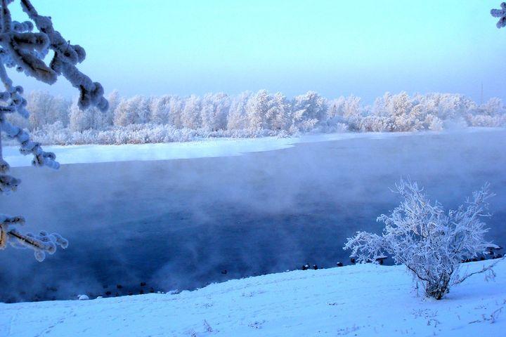 Погода зимой в Сибири