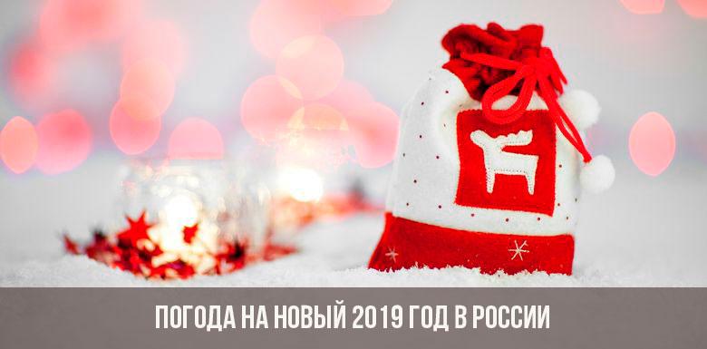 Погода на Новый 2019 год