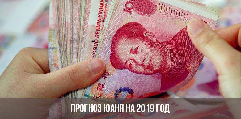 Прогноз юаня на 2019 год