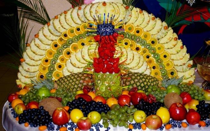 Как оформить фруктовую нарезку на 2019 год