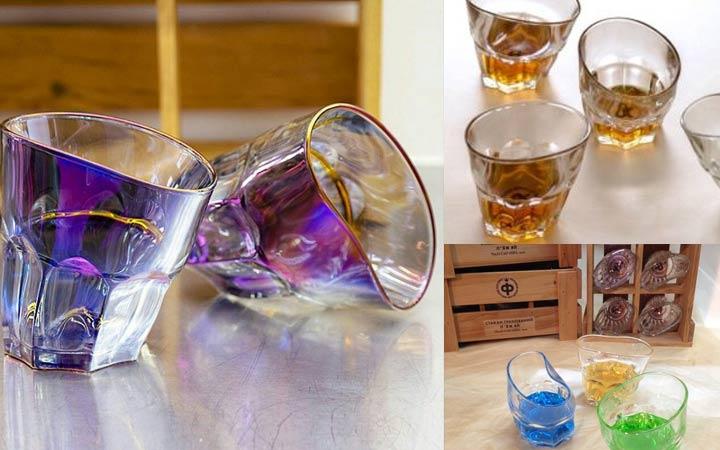 Пьяные стаканы в подарок мужчине на Новый Год 2019