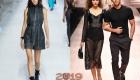Трендовые образы с крупной сеткой мода 2019 года