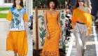 Модные цвета Пантон 2019 года манговый мохито