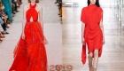 Цвет фиеста от Пантон мода 2019 года