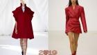 Jester Red модный цвет 2019 в палитре Пантон