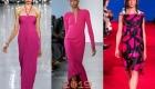 Розовый павлин модный цвет 2019