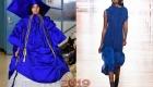 Princess Blue  палитра оттенков Пантон на 2019 год