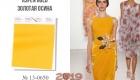 Aspen Gold цвет палитры Пантон на 2019 год