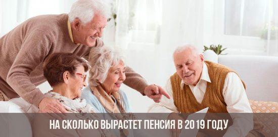На сколько вырастет пенсия в 2019 году