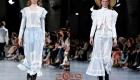 Ретро платье John Galliano лето 2019